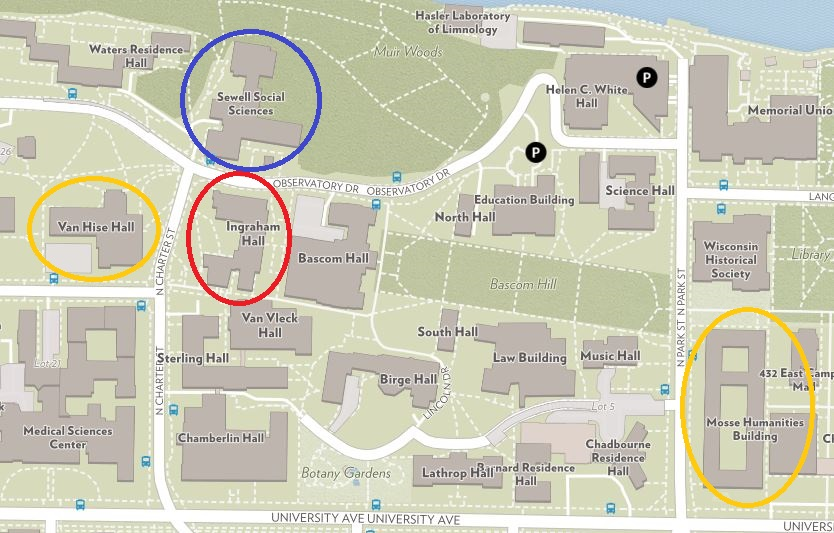 Address And Directions Seassi Uw Madison